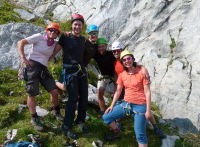 Artikelbild zu Artikel Erfolgreicher Alpinkletterkurs