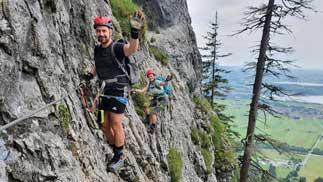 Artikelbild zu Artikel Bilder Klettersteigkurskurs