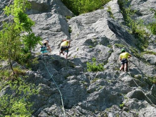 Aufbaukurs Alpinklettern