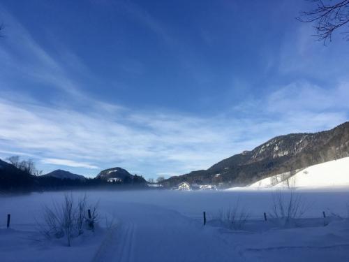 Langlaufen in der Jachenau